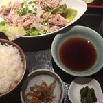 牛しゃぶおろしポン酢定食