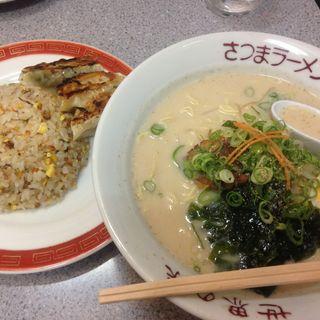 ランチセット(薩摩羅麺 神戸栄光店 )