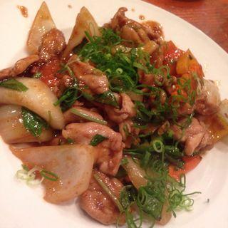 豚肉と野菜炒め(タンカフェ Thang Cafe)