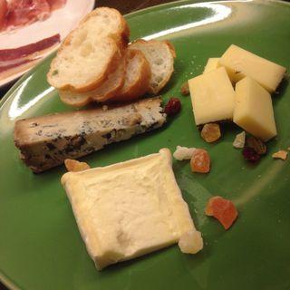 チーズ盛り合わせ(京都ダイナー)