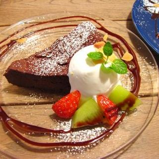 ガトーショコラ(ルーズカフェ (Lu's CAFE))