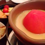 丸ごとトマトチーズフォンデュ ~ブルーチーズ入り~