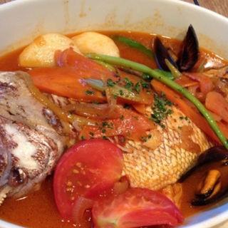 本日の魚と貝のブイヤベース(TOOTH TOOTHParadise Kitchen (トゥーストゥース パラダイスキッチン))