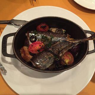 秋刀魚のココット焼き(青山バル)
