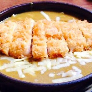 チーズカツカレーうどん(福村家 (ふくむらや))