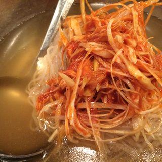冷麺(亀戸ホルモン 恵比寿店)