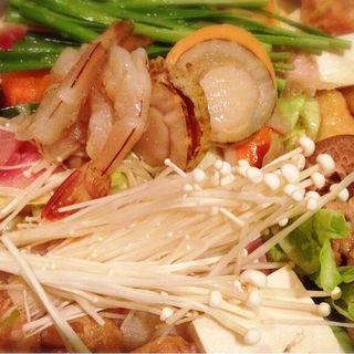 ちゃんこ鍋 味噌味(玉海力 銀座店)