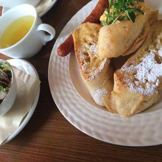 フレンチトースト(フダンカフェ (fudan cafe))
