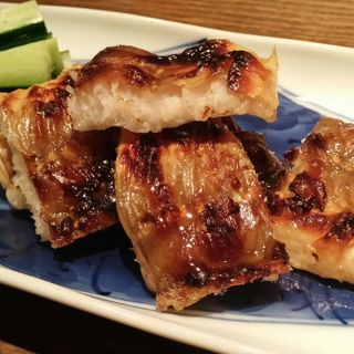焼き穴子と胡瓜(wasabi)