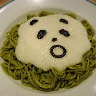 とろろパンダの茶そばぶっかけ(TOWER RECORDS CAFE 表参道店 (タワーレコードカフェ))