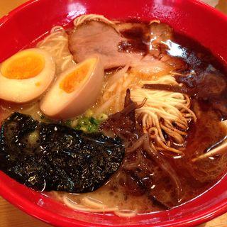 黒ラーメン(ばりかた屋 武蔵小山店 )