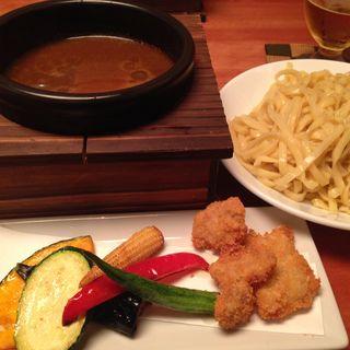 カレーつけ麺(燎原 (リョウゲン))