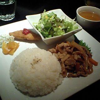 豚のしょうが焼きプレート(CAFE COCODOCO (カフェ ココドコ))
