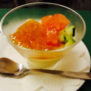 サーモンカクテル(レストランイイジマ )