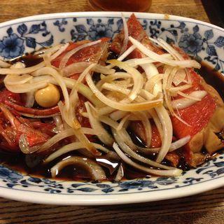 金目の煮つけ(錦寿司)