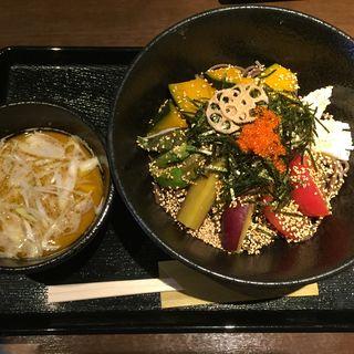 冷たい野菜蕎麦(禅 (ゼン))