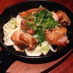 淡路鶏の天然塩焼き