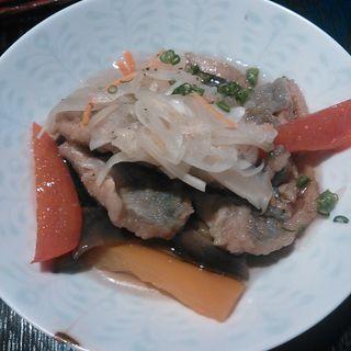 真アジと野菜の南蛮漬け( 酢重DINING (すじゅうダイニング))