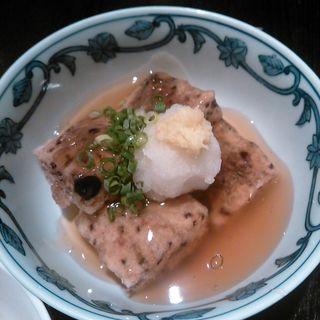 七穀餅のあんかけ( 酢重DINING (すじゅうダイニング))
