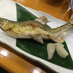 鮎塩焼き(う越秀 )