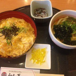 卵丼セット(うどん王 神戸住吉店 )