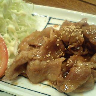 豚の生姜焼定食(エンジョイ・カフェ (Enjoy! Cafe))