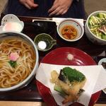 天ぷらうどんセット