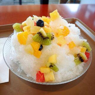 フルーツかき氷(パークカフェ )
