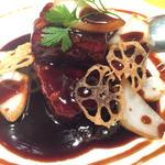 特級黒酢の酢豚