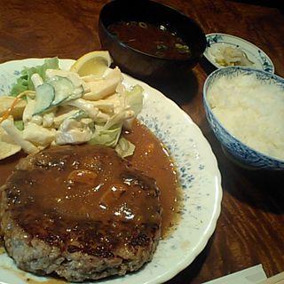 ハンバーグステーキ( レストラン艸葉)