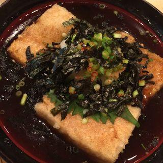 揚げだし豆腐(築地ビッグ寿司 (つきじびっぐすし))