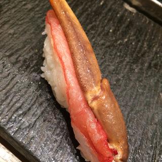 生ズワイガニ(梅丘寿司の美登利総本店 銀座店 (うめがおかすしのみどりそうほんてん))