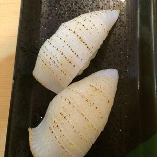 剣先いか(にぎり鮨 魚魚 (さかなさかな))
