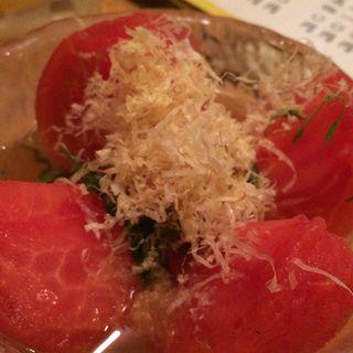 冷やしトマト(お多幸)