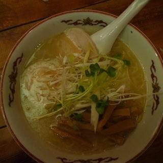 鶏塩ラーメン(麺工房しろきや)