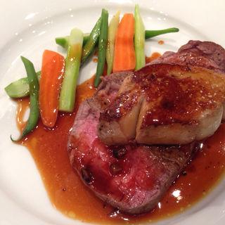 牛フィレ肉のロッシーニ(ミッテラン)