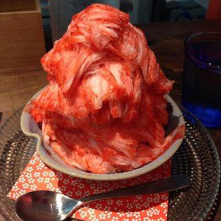 果実氷 ほのか苺(リュボン デ フリューティー アン カフェ (Ruban de Fruits An Cafe))