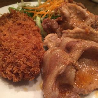 豚ロース生姜焼き定食(キッチン大正軒)