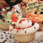 ハロウィーンカップケーキ