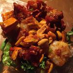 海老と食べる唐辛子のスパイシー炒め