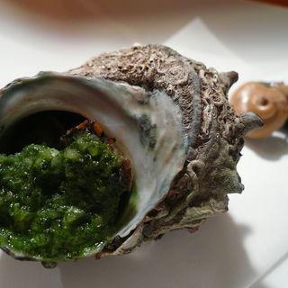 さざえの塩焼き(ヒロ・プルミエ)