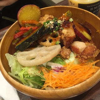 チーズロコモコ丼(スモール マーケット@デリ グランフロント大阪店 (SMALL MARKET@DELI))
