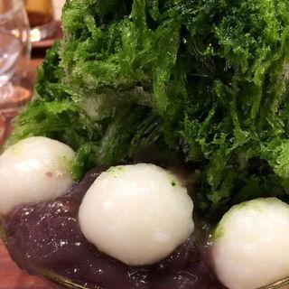 かき氷 抹茶(たねや 阪急うめだ本店  )