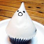 ハロウィンおばけのカップケーキ