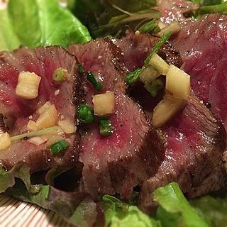 米沢牛ステーキサラダ定食(米沢牛黄木 東京店 )