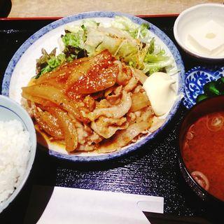 しょうが焼き定食(ぽん輔 )