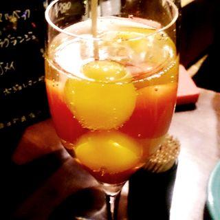 フルーツトマトのシャンパン漬け(jeeco (ジーコ))