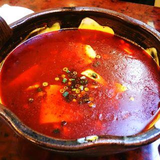 牛肉と揚げ豆腐の四川風煮込み(四川DINING 望蜀瀘 )
