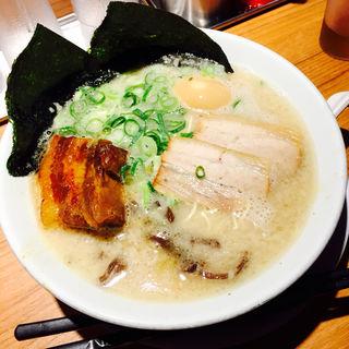 白丸ラーメン(博多 一風堂 錦小路店 (いっぷうどう))