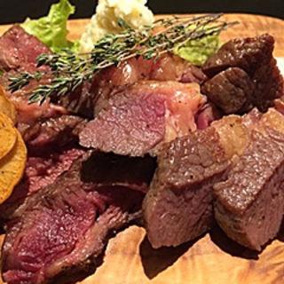 熟成肉肩ロース100g(Tetsujin's Dining (テツジンズ ダイニング))